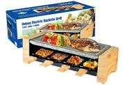 Raclette Table Grill, Electric Indoor Grill Korean Bbq Grill, Raclette 1450w