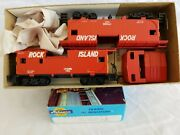Lot Of 2 Athearn Rock Island Wide Vision Caboose No. 17056 And 17058