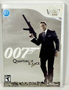 James Bond 007 Quantum Of Solace - Wii - Cib - Tested - Includes Manual