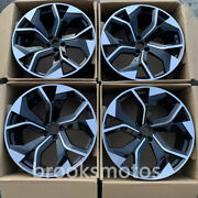20 New Style Wheel Rims Fits For Audi 2015+ Q7 Sq7 Rs Q3 2007+ A5 20x9 Offset30