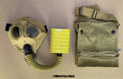Us Wwi And Wwii Corrected English Model Gas Mask Respirator And Bag