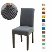 Solid Chair Covers Spandex For Wedding Dining Room Office De Chaise Chair Cover