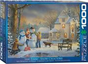 Eurographics - Snow Creations By Sam Timm 1000 Pc Puzzle