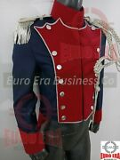 Napoleonic Dutch And Polish Lancer Troop Tunic Jacket With Epaulette And Aiguillette
