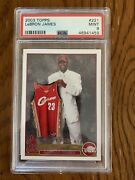 2003 Topps Lebron James Rc 221 Psa 9 Los Angels Lakers Invest
