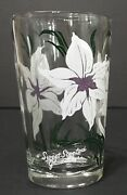 Boscul Peanut Butter Glass Sweet Scented Gladiolus Juice Kitchen White Flower
