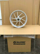 Galespeed Front Wheel Type R 350-17 Silver Anodized Almite 28310007-al No Abs
