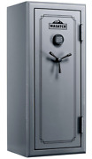 🔫wasatch 24 Gun Fire Resistant Waterproof Security Safe Electronic Lock Gray