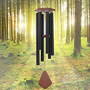 Wind Chimes Outdoor Large Deep Tone, Memorial Wind Chimes Outdoor 44black