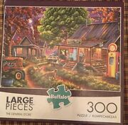 300 Large Piece Puzzle The General Store By Buffalo Puzzles Nostalgic America