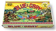 Marx Giant Blue And Gray Battle Play Set Box