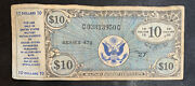 10 Dollars Military Payment Certificate Series 472