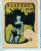 Playboy Feb  1954 - 1993   Individual Trading Cards  Chromium Letter Cards