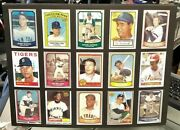 Baseball Greats 3 Matted 15/card Reprint Collectable 12 X 16 Nmt Looks Great