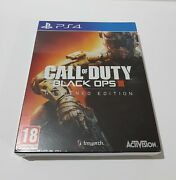 Call Of Duty Black Ops 3 Iii Cod Hardened Edition New Sealed Dlc Steelbook Ps4