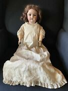 Nice Antique 24 Germany Handwerck 4 Doll Bisque Head Ball Jointed Body
