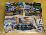 Sealed New Hayden Lambson Exclusive 12 Pack Puzzles - Series 2