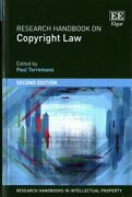 Research Handbook On Copyright Law Hardcover By Torremans Paul Edt Like ...