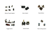 Push Button Switch,rocker Switches,tactile Switches,toggle Switches,micro Switch