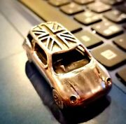 New Menand039s Collectible Mini Car 925 Sterling Silver Classic Model Realistic Cool