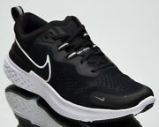 Nike React Miler 2 Womenand039s Black White Athletic Running Jogging Shoes Sneakers