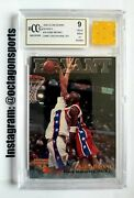1996 Score Board Kobe Bryant Rc/patch Bgs 9 Game Used Rookie Year Jersey