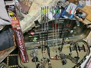 Used Mathews Helim Legacy And Browning Bow And Accessories