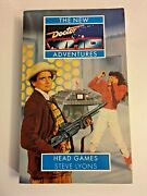 Doctor Who New Adventures Head Games By Steve Lyons 1995 Paperback