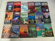 Big Lot 18 Catherine Coulter Books Fbi Series Vol 1-18 Near Complete The Edge