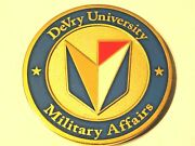 Devry University Military Affairs Veterans 5 Branches Challenge Coin
