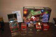 Vintage Noma Music Box Christmas Collection Plays 16 Songs Animated Rare