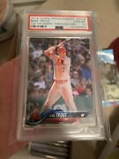 2018 Topps Transcendent Party Through The Years /83 Mike Trout Psa 10
