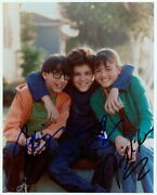The Wonder Years Fred Savage Signed Cast In-person 8x10 Photo