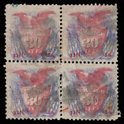 Malack 121 F/vf, Block, Very Rare, Plate Number At T..more.. Gu1703
