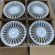 23 New White Style Forged Wheels Rims Fits For Mercedes Benz Gls Class