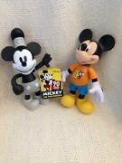 Disney World Theme Park Souvenirs Of Mickey Mouse 2015 Steamboat Willie Figures