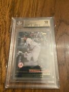 2018 Topps Transcendent Aaron Judge Vip Party Rc Aj2000 Bgs 10 Better Than Psa