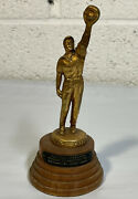 Vtg 1950 Military Baseball Figural Trophy Panama Champs 2nd Infantry 33rd League