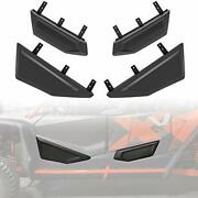 Front And Rear Plastic Lower Door Panels With Built-in Frame For Honda Talon 10...