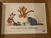 """Lego Vip Winnie The Pooh Sketch """"good Deed"""" 662/1000 Limited Edition New"""
