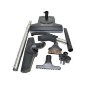Fit All Central Vacuum Kit W/ Tools Black For Hide A Hose T210 06-4957-66