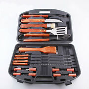 A1 18 Piece Stainless Steel Barbecue Bbq Grilling Tools Set W/ Storage Case New