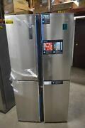 Hisense Hqd20058sv 36 Stainless Cd Side-by-side Refrigerator Nob 50038