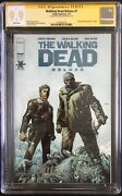 The Walking Dead Deluxe 7 Finch Cover Cgc 9.9 Signed By Charlie Adlard