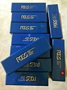 Set Of 12 Blue Pcgs Empty Boxes For Storing Your Graded Coins