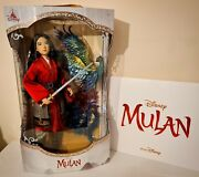 💫 Disney Limited Edition Mulan Collectable Doll And Official Movie Lithographs 💫