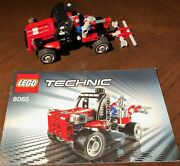 Used Lego Set 8065 Mini Container Truck With Instructions Free Shipping