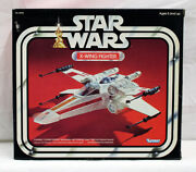 Vintage Star Wars Boxed X-wing Sw Box Vehicle Mib C-6.5 Decals Applied