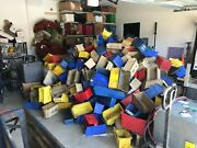 Akro-mils 30240 Linbin And Misc. Used Storage Bins. Almost 550 Total.