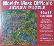 World's Most Difficult Jigsaw Puzzle Golf Edition New